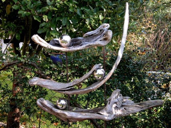 Gartendeko mit und aus schwemmholz kreatives aus der natur for Gartendeko idee