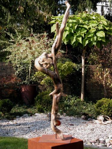 skulpturen aus schwemmholz kreatives aus der natur. Black Bedroom Furniture Sets. Home Design Ideas